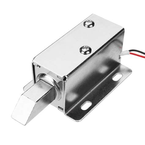 lock cabinet assembly 24v dc electric lock assembly solenoid locking tongue