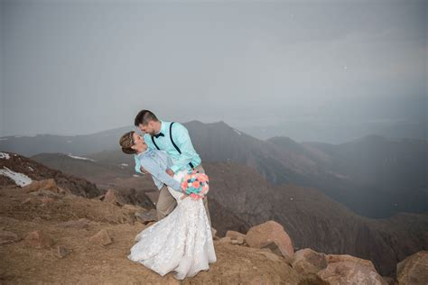 adventure wedding  colorado springs luxe mountain