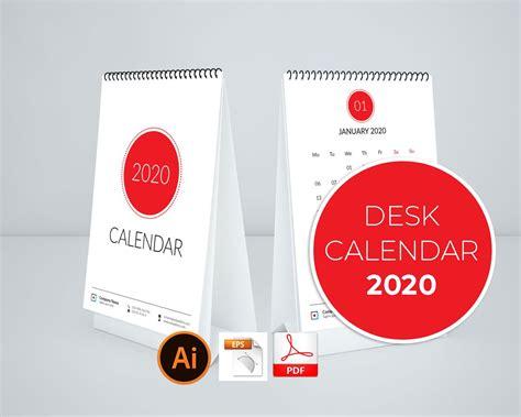 simple calendar  desk stationery templates creative market