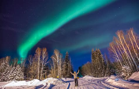 northern lights packages alaska look this winter