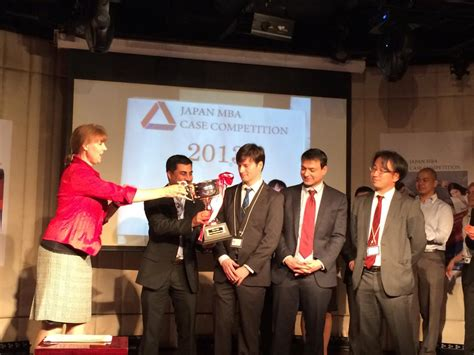 Mcgill Mini Executive Mba by Mcgill Team Wins Japan Mba Competition Desautels