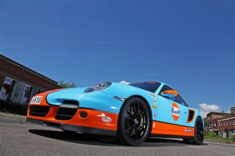 gulf racing porsche 997 turbo gulf racing wrap autoevolution