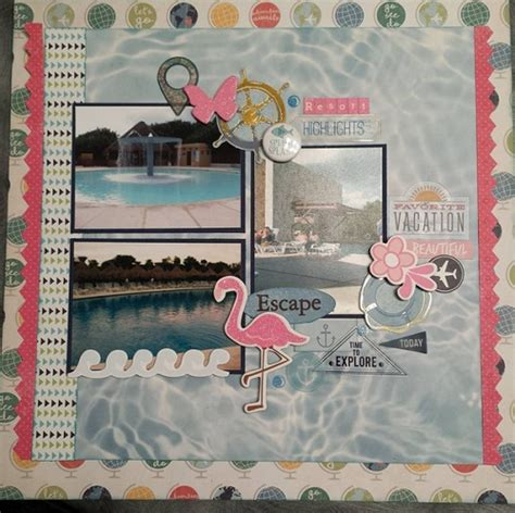 Scrapbook Ideas - 27 scrapbook ideas with images and my