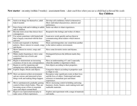 Baseline Risk Assessment Template
