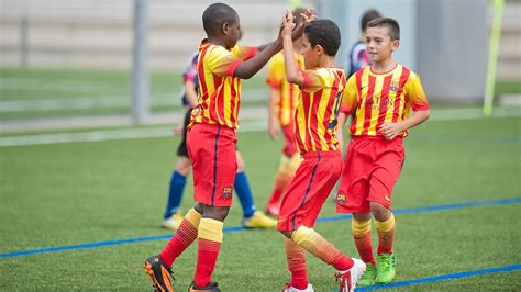 barcelona academy fc barcelona football academy commence in lagos nigeria