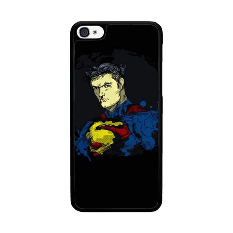Superman X1188 Iphone 5 5s Se Casing Custom Hardcase jual acc hp superman of steel o0306 custom casing for