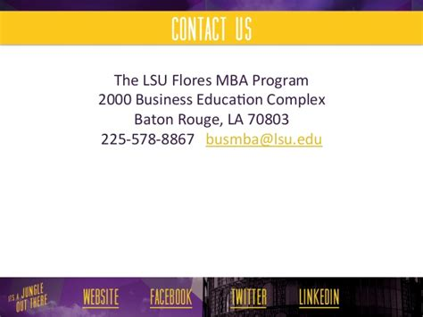 Meteorology Mba Program by Lsu Flores Mba Cus