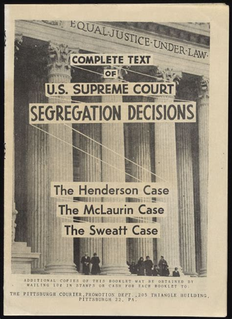 Oklahoma Court Docket Records A Century Of Racial Segregation 1849 1950 Brown V Board At Fifty Quot With An Even