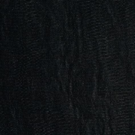 Black Material telio silk mesh black discount designer fabric fabric