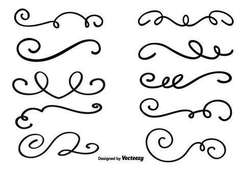 decorative vector swirls free vector stock