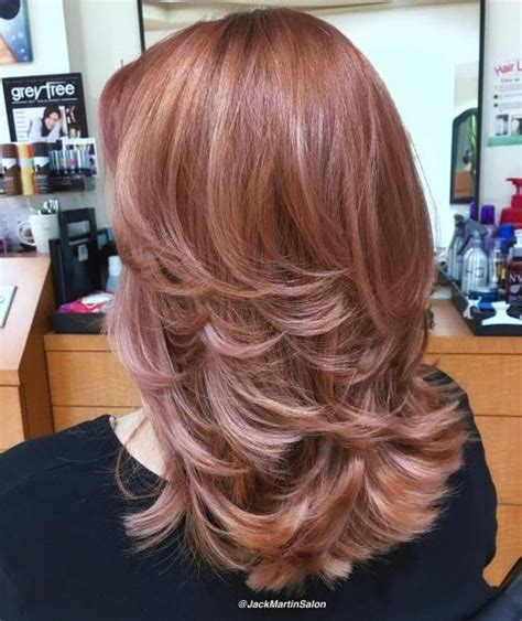 medium long flipped hair 70 brightest medium length layered haircuts and hairstyles