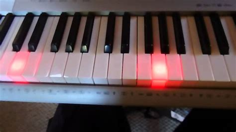 yamaha keyboard lighted keys casio lk 280 sd midi youtube