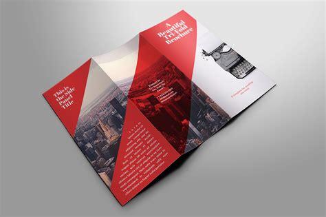 trustx corporate tri fold brochure template 3 marketing reports