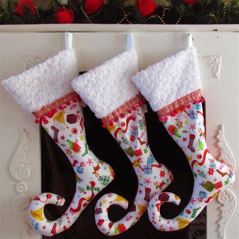 xmas stocking pattern ideas christmas elf stocking my etsy pdf sewing pattern