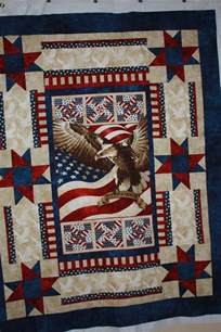 patriotic quilt using eagle panel marys quilts