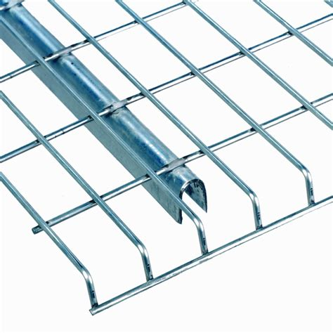 Pallet Rack Wire Decking by Wire Decking Pallet Rack Wire Deck With Front And Rear