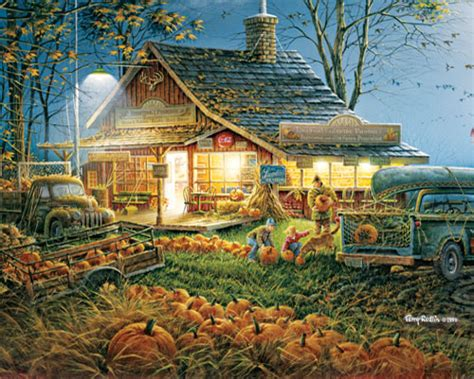 Autumn Traditions 1000 Piece Puzzle White Mountain Puzzles