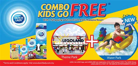 theme park vouchers 2015 dutch lady milk free legoland malaysia water theme