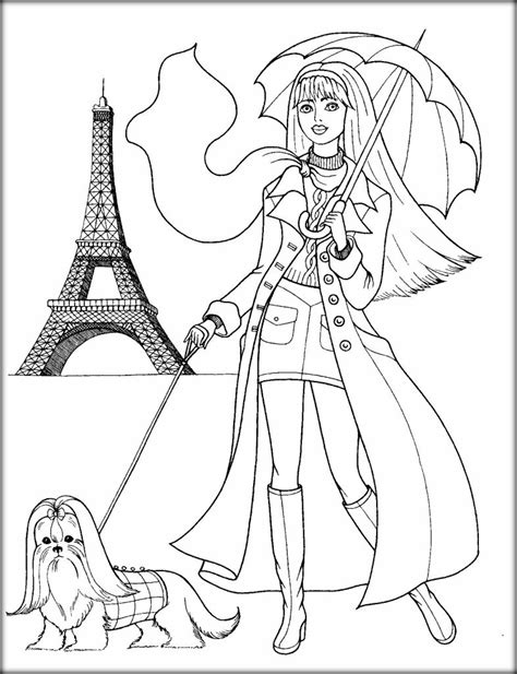 printable cute coloring pages for girls color zini