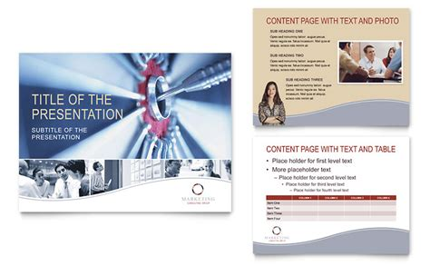 Marketing Consulting Group Powerpoint Presentation Powerpoint Template Consulting Presentation Template