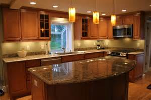 merillat labelle toffee maple traditional kitchen