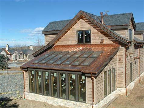 copper roof solar panels and copper roof