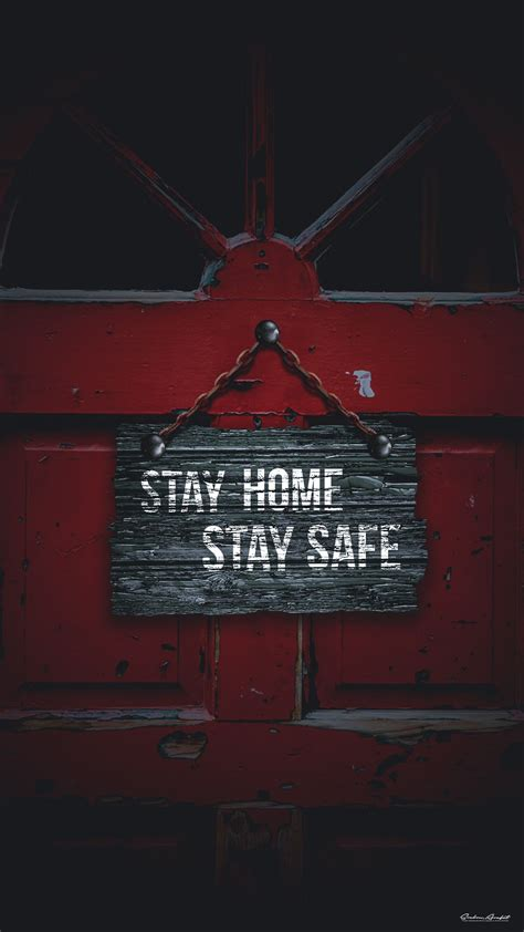 stay home stay safe   wallpaper smartphone