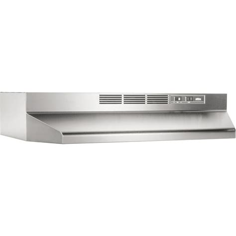 broan 36 inch cabinet range broan 413604 36 quot non ducted range