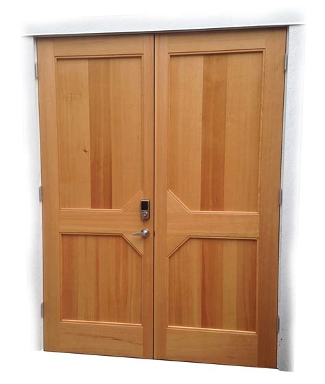 Custom Wood Doors Custom Wood Doors Saratoga Woodworks Craftsman Style