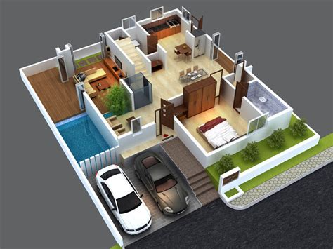 3d ground floor plan 3d house plans indian style north facing escortsea
