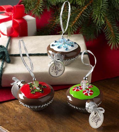 cupcake handmade christmas ornaments diy candy