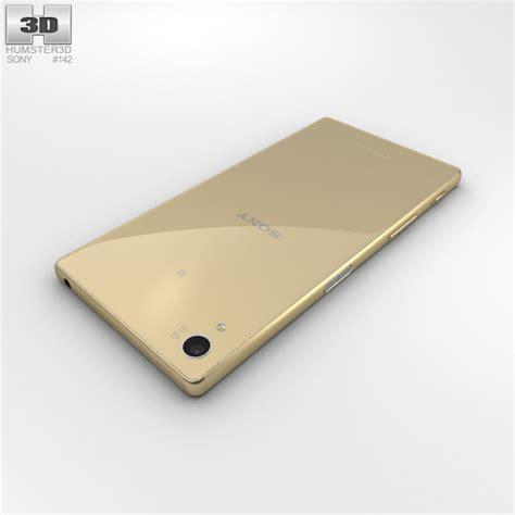 Sony Z5 Gold Second Ori sony xperia z5 gold 3d model hum3d