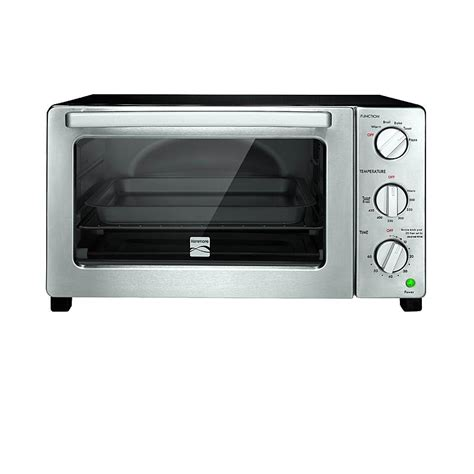 Toaster Oven Sears kenmore 4806 6 slice black convection toaster oven sears outlet