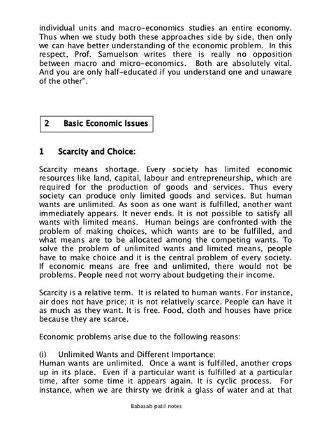 Mba 1st Sem Managerial Economics Notes by Managerial Economic Notes 1st Sem Mba