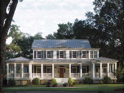 plantation homes plans with wrap around porch exterior