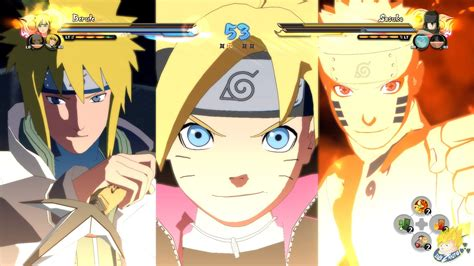 boruto bertemu minato naruto shippuden ultimate ninja storm 4 boruto naruto