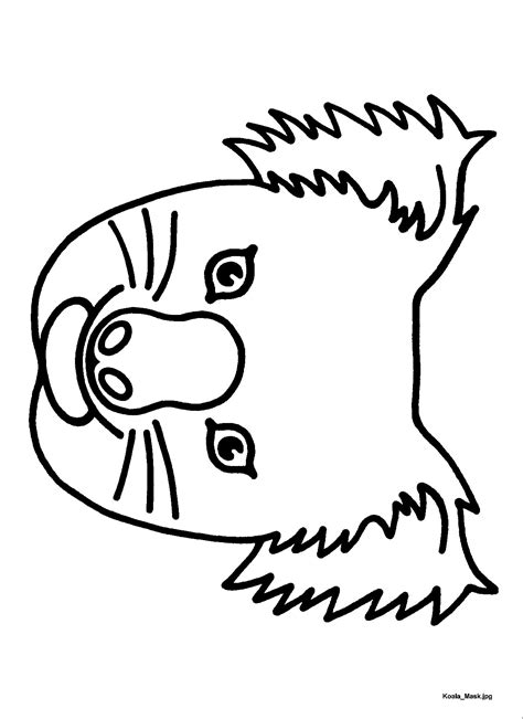 emu mask template printable 1000 images about drama on pinterest theater puppet