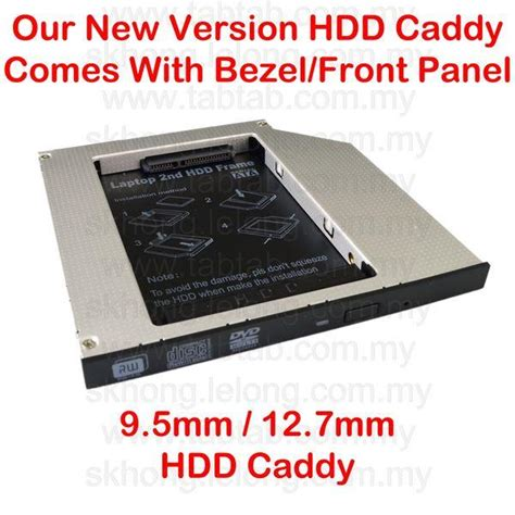 Hdd Caddy 9 5 Mm 12 7 Mm Slot Hardisk Tambahan Second Diskon wts new edition 9 5mm 12 7mm universal hdd caddy