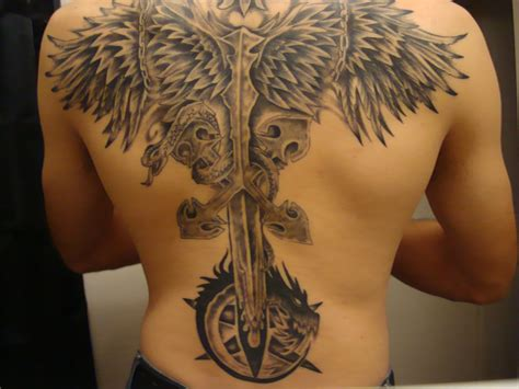 back tattoo by silentsigil on deviantart