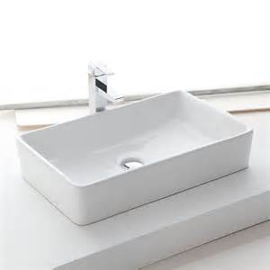 Beau Lavabo Salle De Bain Rectangulaire #2: vasque-a-poser-rectangulaire-61x37-cm-ceramique-orba.jpg