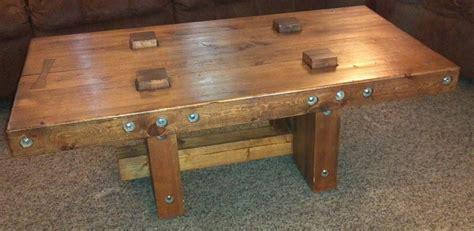 2x4 threaded rod coffee table inspiring ideas