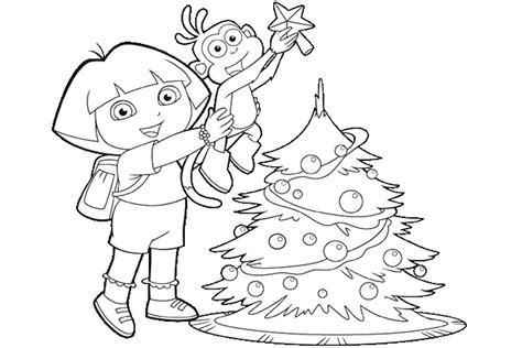 dora and friends coloring pages games christmas coloring pages overview with nice coloring pages