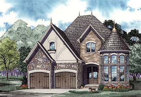 tudor house plan family home plans