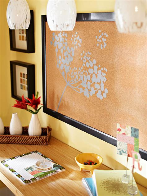How To Decorate A Cork Board by Morris Interiors 5 Weekend Decorating Ideas