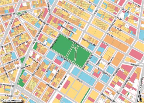 oasis nyc map maps and plans the washington square association