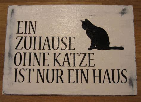 ein zuhause holzschild vintage ein zuhause ohne katze ist nur ein haus