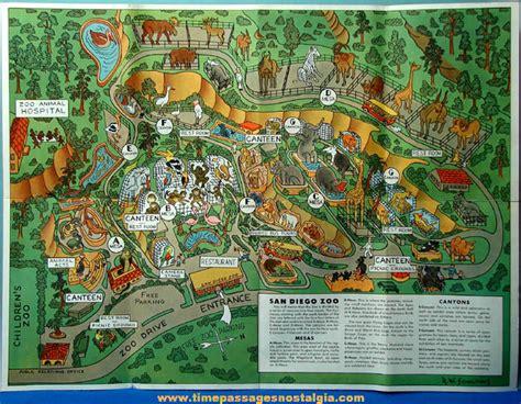 map san diego zoo safari park san diego zoo map of park