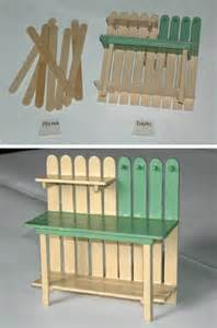 17 best images about popsicle stick furniture on