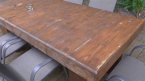 Massivholztisch Selber Bauen massivholztisch selber bauen aus resten handwerkertipps net