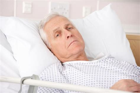 old man in bed young people have benefited more from cancer advances